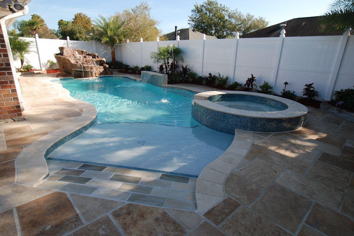 Lagoon Freeform Pools Backyard