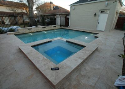 Travertine Spa & Pool